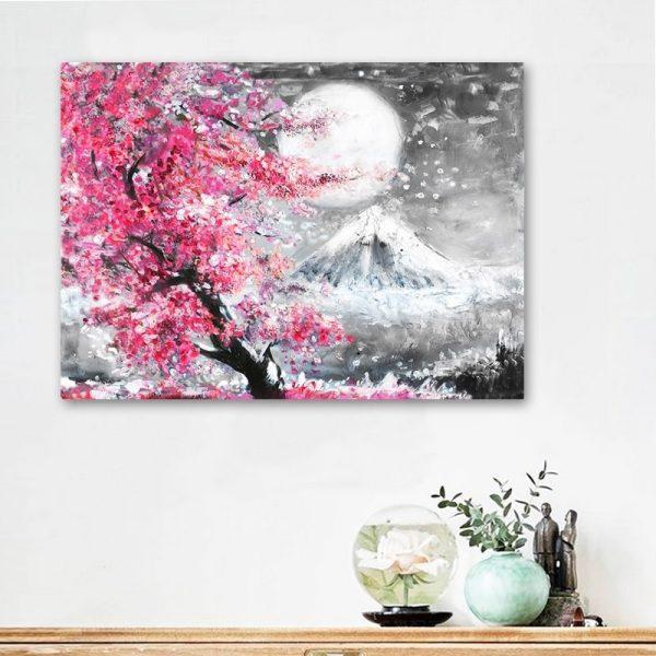 Affiche Cerisier Japonais