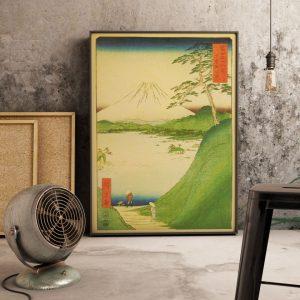 Poster Paysage Japonais