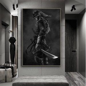 Poster Japonais Samouraï