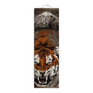 Tableau Japonais Fureur du Tigre