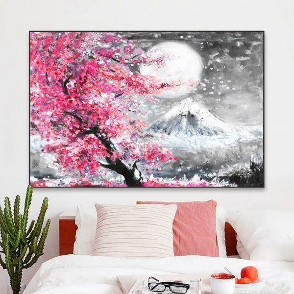 Toile Cerisier Japonais