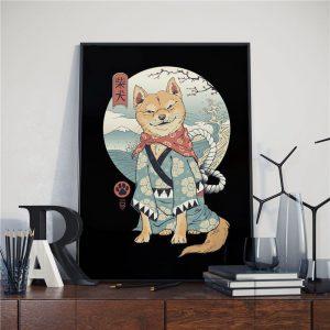 Affiche Art Japonais