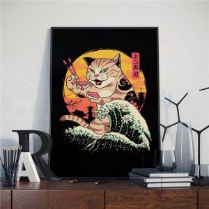 Poster Art Japonais