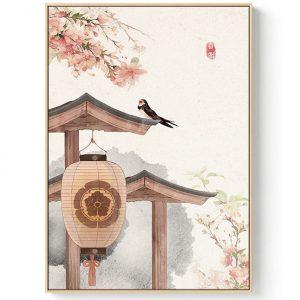 Poster Mural Paysage Japonais