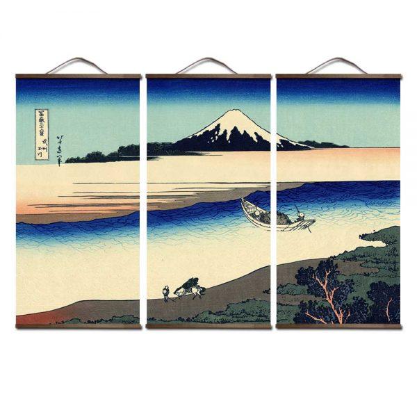 Tableau Mer Japonais