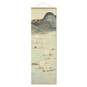 Tableau Peinture Paysage Japonais