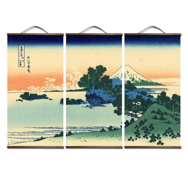 Tableau Paysage Japonais