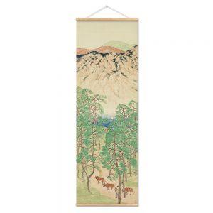 Tableau Montagne Japonaise