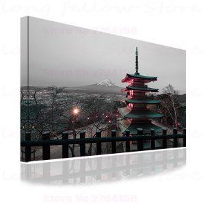 Tableau Paysage du Japon