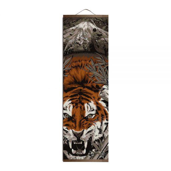 Tableau Tigre Japonais