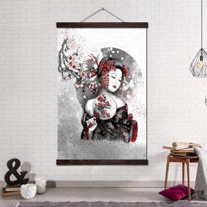 tableau art moderne japonais