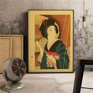 Poster Geisha Vintage