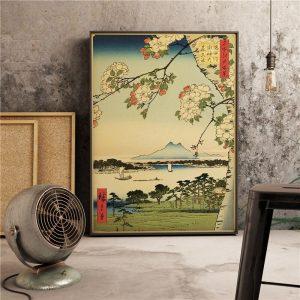 Poster Cerisier Japonais