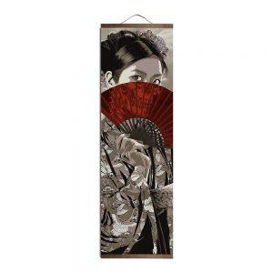 Tableau Japonais Femme Élégante