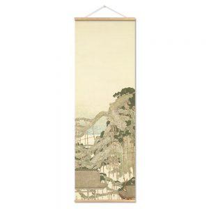 Tableau Japonais Paysage Rétro