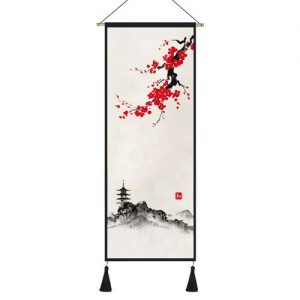 Tableau Japonais Branche de Cerisier