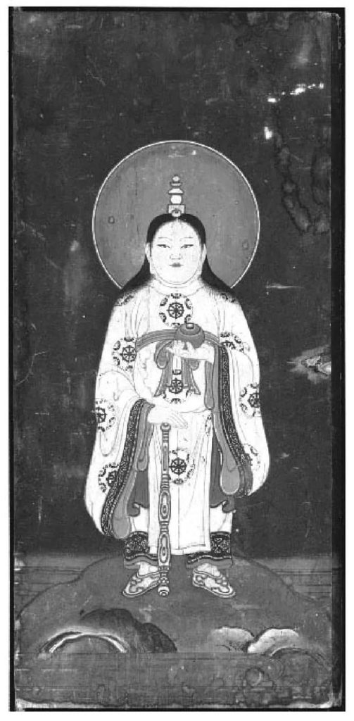 Amaterasu-mikami est une incarnation bouddhiste d'Amaterasu (Oho doji).