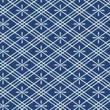 motifs patchwork bleu-marine