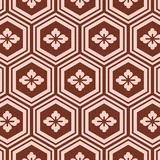 motif japonais rouge et blanc