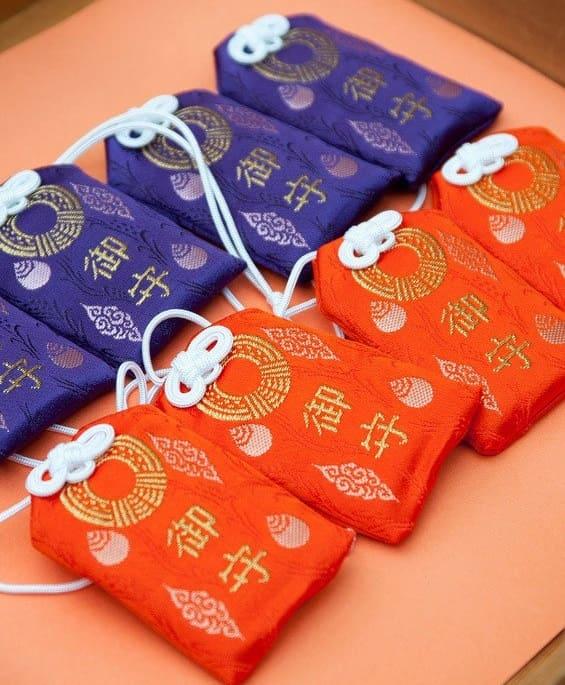 Amulettes de la culture Japonaise