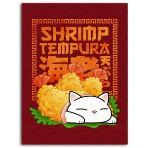 Poster Japonais Tempura