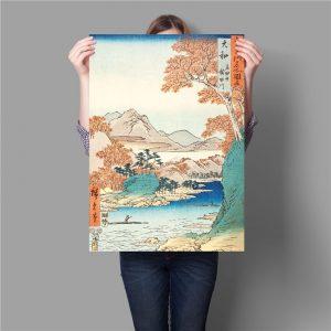Poster Japonais Douceur Nippone