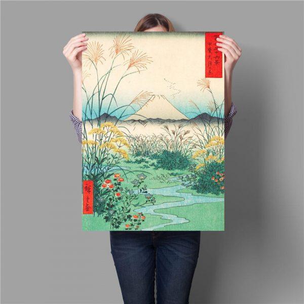 Poster Mont Fuji