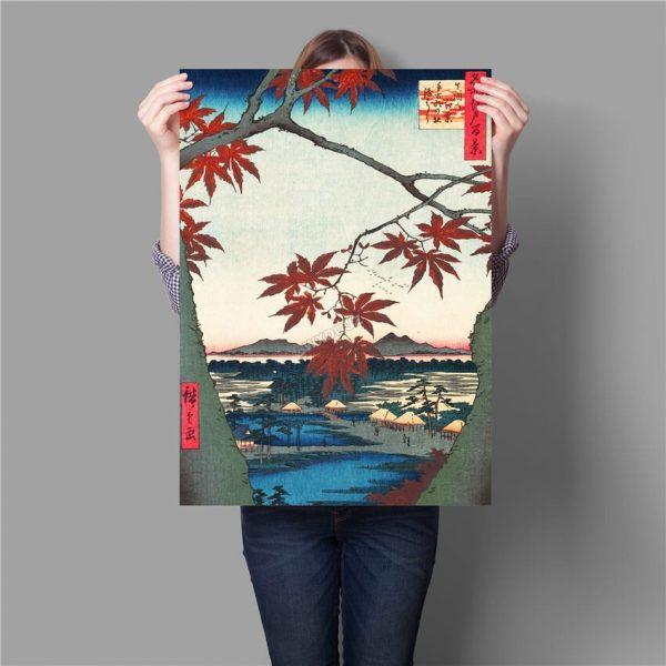 Poster Mural Japon Paysage