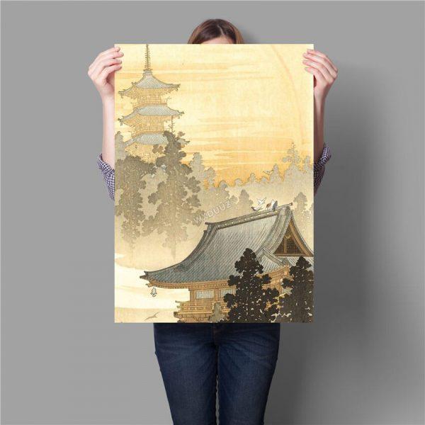 Poster Mural Japonais Zen