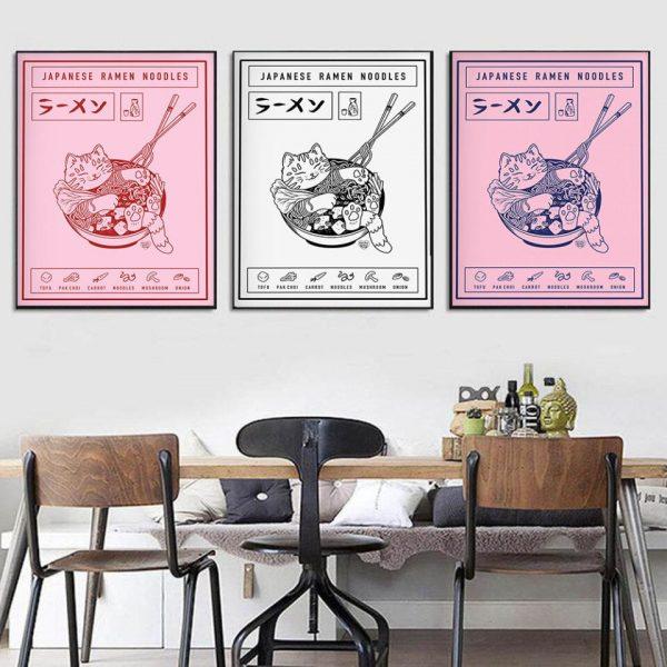 Poster Style Japonais